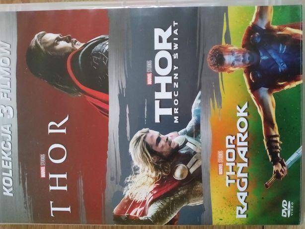 """Trylogia filmów """"Thor"""" DVD"""