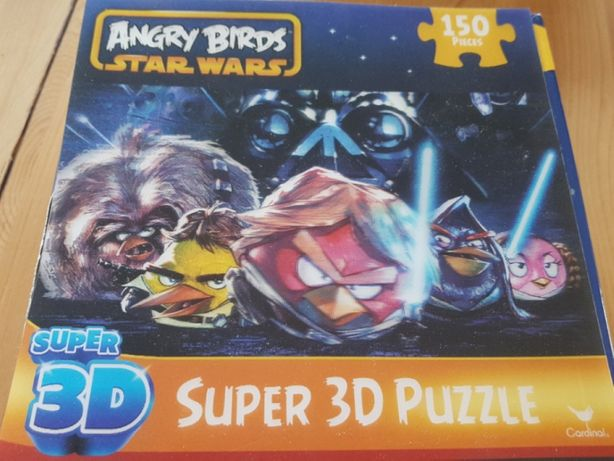 Angry Birds Star Wars Puzzle 3d Unikatowe trojwymiarowe Jedyne na olx