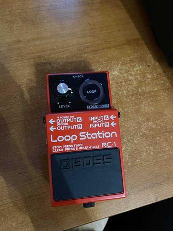 Boss RC1 Loop Station + Transformador Boss PSA-230S