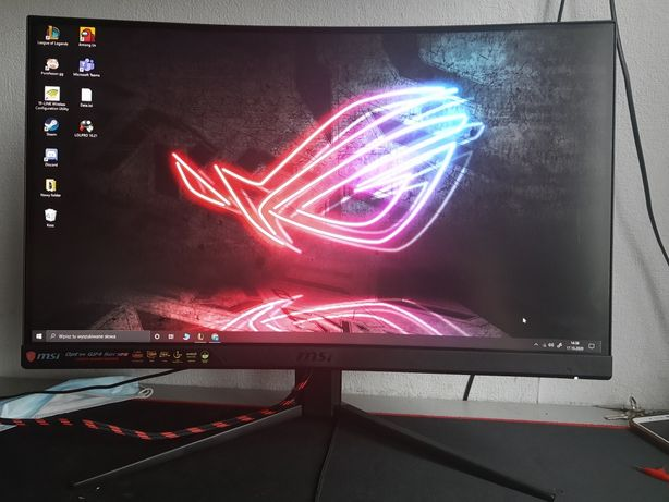 Monitor gamingowy MSI optix mag241c 1ms 144hz!!