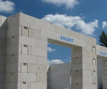 Suporex 24 cm , Solbet, beton komórkowy , siporek