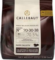 Бельгийский черный шоколад Callebaut