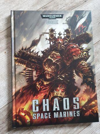Warhammer 40k codexy space marines, chaos space marines