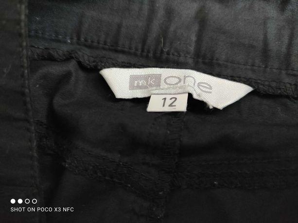 Spódnica czarna bawełniana cienka