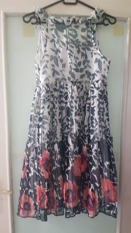 Plisowana sukienka s/m zamienie