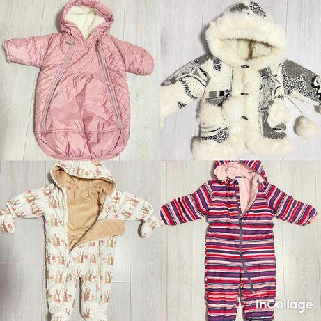 Одежда для девочек от 0 до 4 лет.