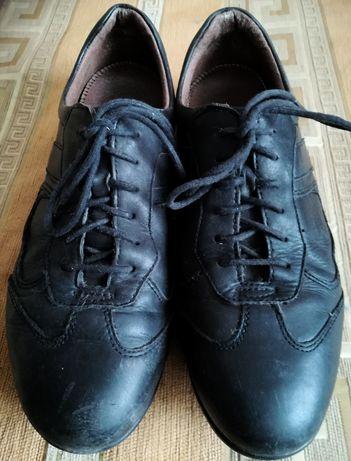 """Туфли кожаные мужские итальянские """"Bata"""" 41 р."""