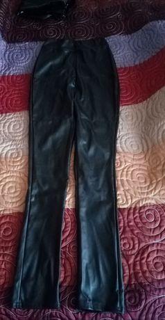 Sprzedam spodnie damskie skórzane