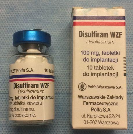 Wszywka alkoholowa / Implantacja Disulfiramu / Esperal / Poznań