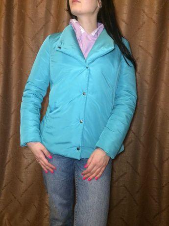Куртка весенняя женская размер 46