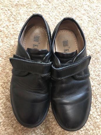 Кожаные туфли на мальчика