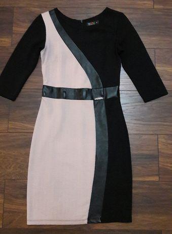 Sukienka ze wstawkami