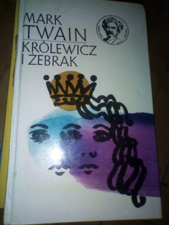 """""""Królewicz i żebrak"""" Mark Twain"""