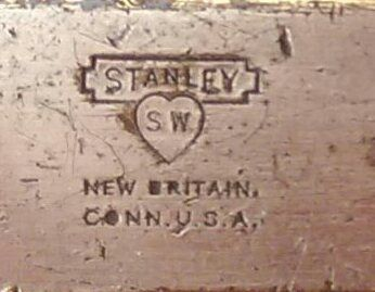 Stanley s.w. new britain conn.u.s.a.