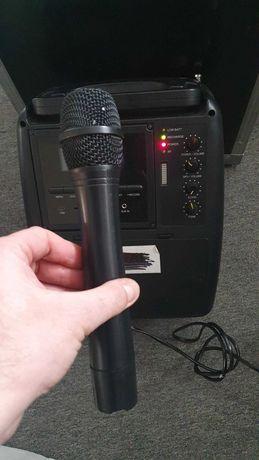 Przenośnia kolumna nagłośnieniowa z mikrofonem bezprzewodowym. IPA-206