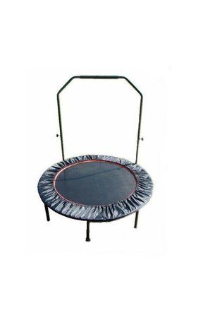 Trampolina fitness domowa z uchwytem, 120cm, atest