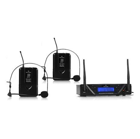UHF-450 Duo2 Zestaw mikrofonów bezprzewodowych