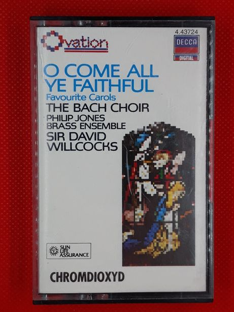 Kaseta Bach Choir Favourite Carols Philip Jones Brass Ensemble Decca