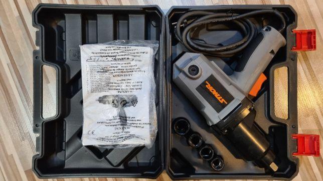 Klucz udarowy Sthor 57091 castorama + nasadki, nieużywany