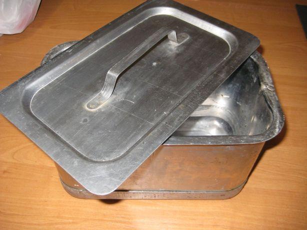 кастрюля мармитная 4 литра, 12 литров. Нержавейка СССР