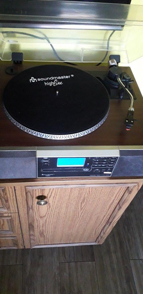 Na sprzedaż radio,gramofon,magnetofon, cd,USB, firmy soundmaster