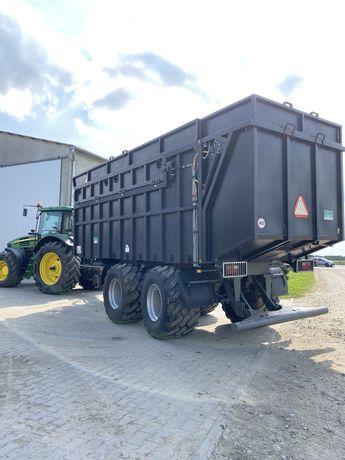 Koszenie kukurydzy na kiszonke transport objętościowy