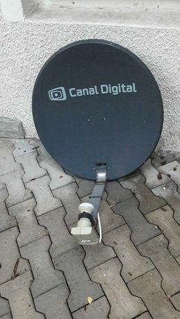antena satelitarna elipsa +konwerter +uchwyt
