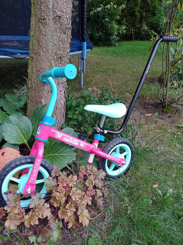 Rowerek biegowy dla dziewczynki w stanie idealnym
