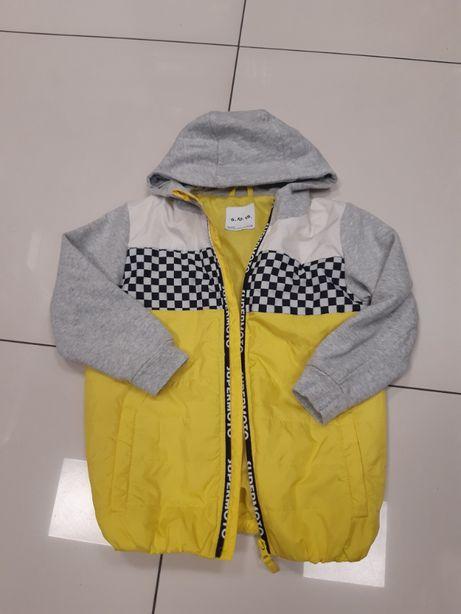 kurtka 128 przejściowa 5 10 15 dla chłopca