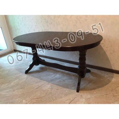 Стол 160/90+40. Стол обеденный. Столы. Стол деревяный
