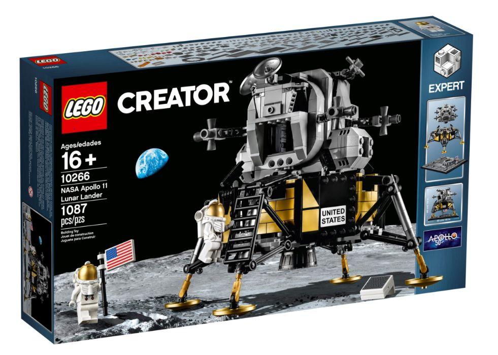 LEGO 10266 Creator Expert NASA Apollo 11 Lunar Lander Avenidas Novas - imagem 1