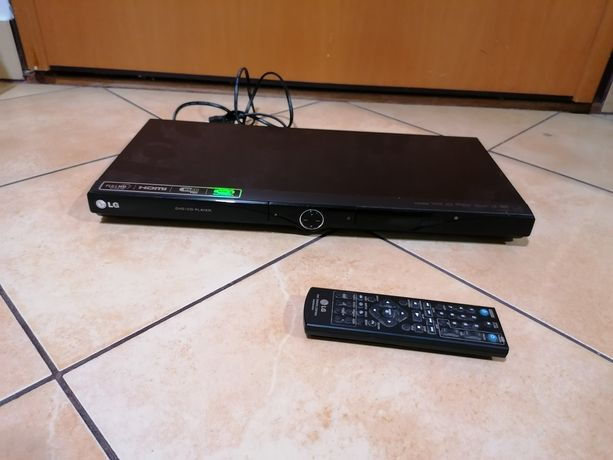 Sprawny odtwarzacz DVD LG DVX492H w stanie bardzo dobrym