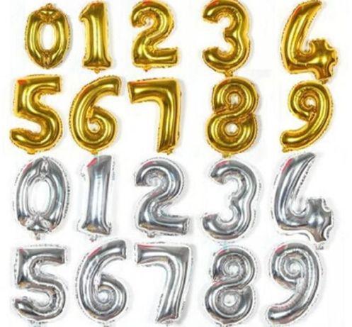Шары цифры, 1м(100см) (шарики, фотозона,фольга,декор)