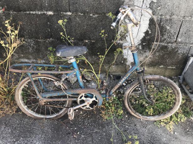 Bicicleta Peugeot articulada antiga