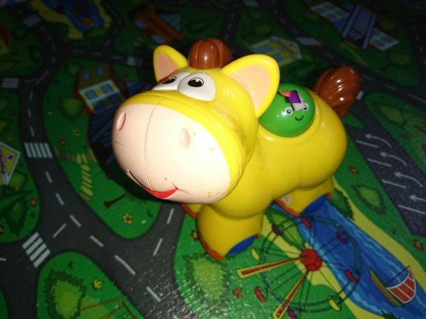 Развивающая игрушка лошадка kiddieland