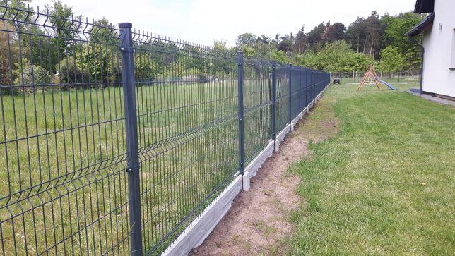 Ogrodzenie panelowe Panel ogrodzeniowy 1.5 m. fi 4mm, 51 drutów montaż