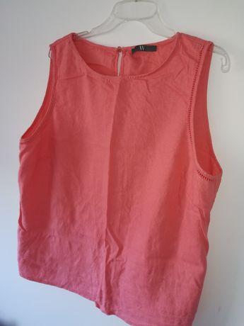 Bluzki ubrania roz. 48