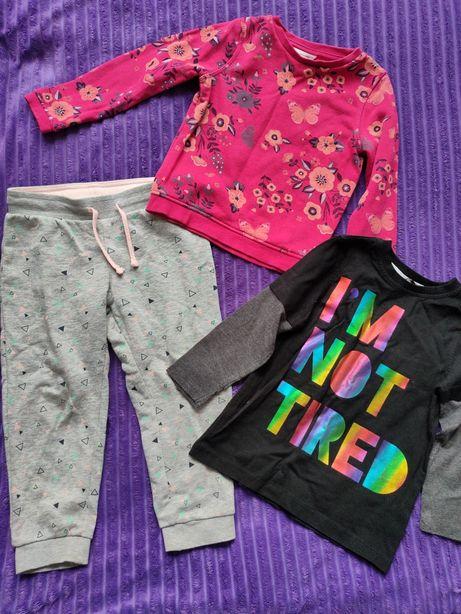 Набор пакет лот вещей джинсы лосины шорты кофта реглан 98-104р