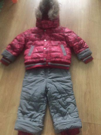 Продам зимний костюм (пуховик) КІКО на мальчика 92 см