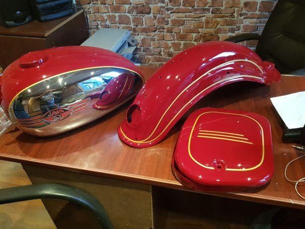 Lakierowanie motocykli wszystkie typy i rodzaje - szparunki malowane