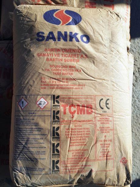 Цемент М500 Д0 BARTIN турция 25 кг