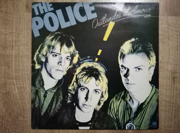 The Police outlandos d'amour winyl.