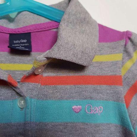 Śliczna bluzka polo GAP 4lata