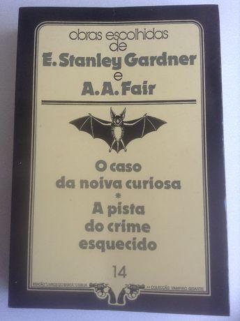 Livros policiais de Erle Stanley Gardner e de A.A.Fair