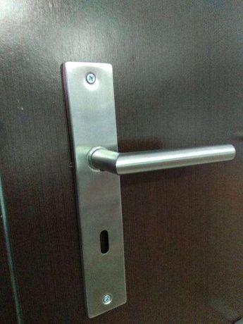 Puxadores inox novos porta interior
