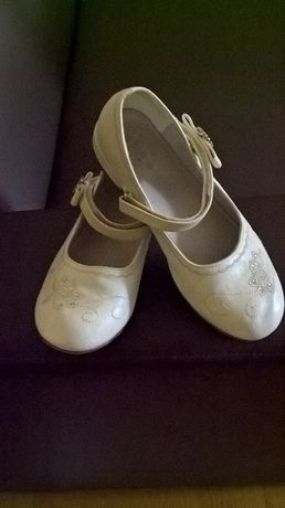Skórzane buty komunijne 36