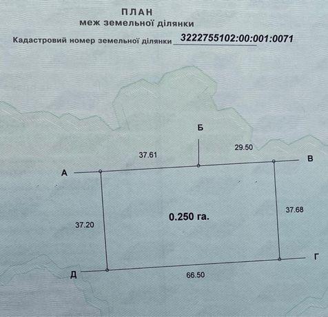 Продається земельна ділянка село Калинівка,  (Київська область)
