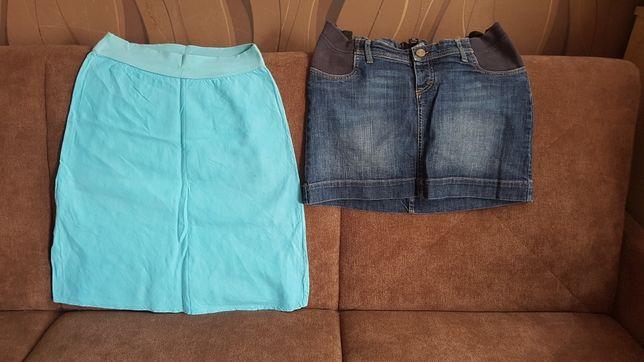 2 spódnice, spódniczki ciążowe