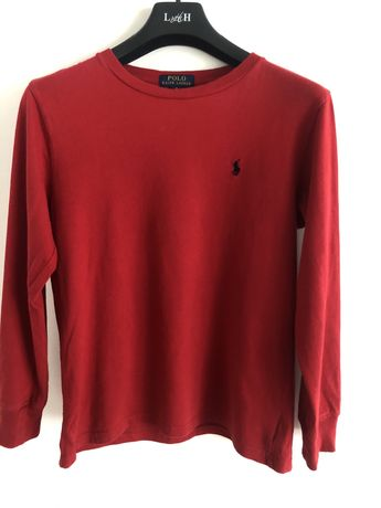 Czerwona koszulka/bluza Ralph Lauren POLO
