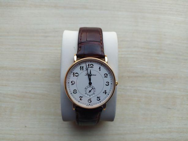 Золотые часы Longines